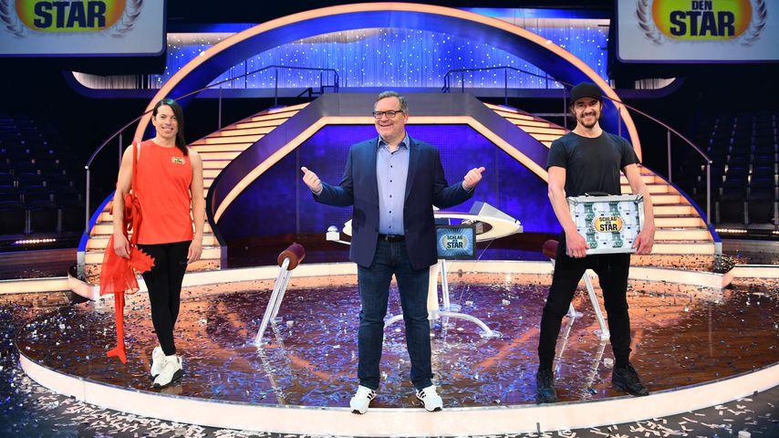 """Jorge Gonzalez, Elton und Thomas Hayo bei """"Schlag den Star"""""""