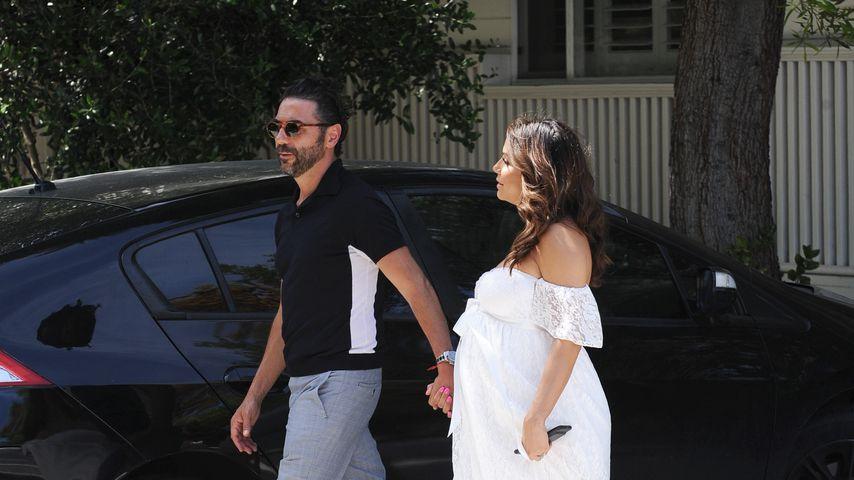 José Bastón und Eva Longoria während ihrer Babyshower
