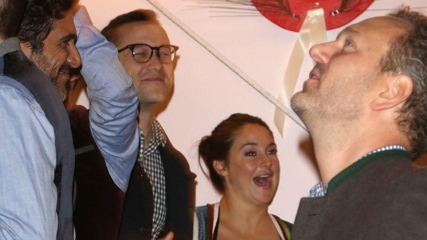 Shailene Woodley & Joseph Gordon-Levitt rocken die Wiesn!
