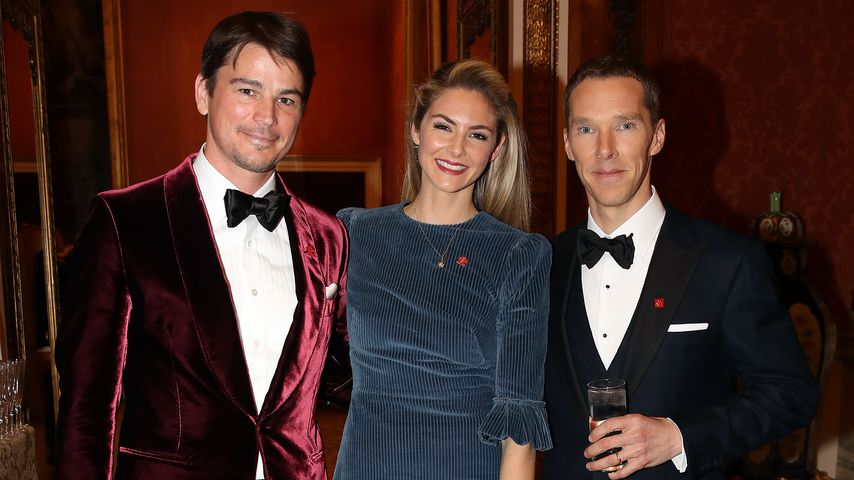 Josh Hartnett, Tamsin Egerton und Benedict Cumberbatch im März 2019 in London