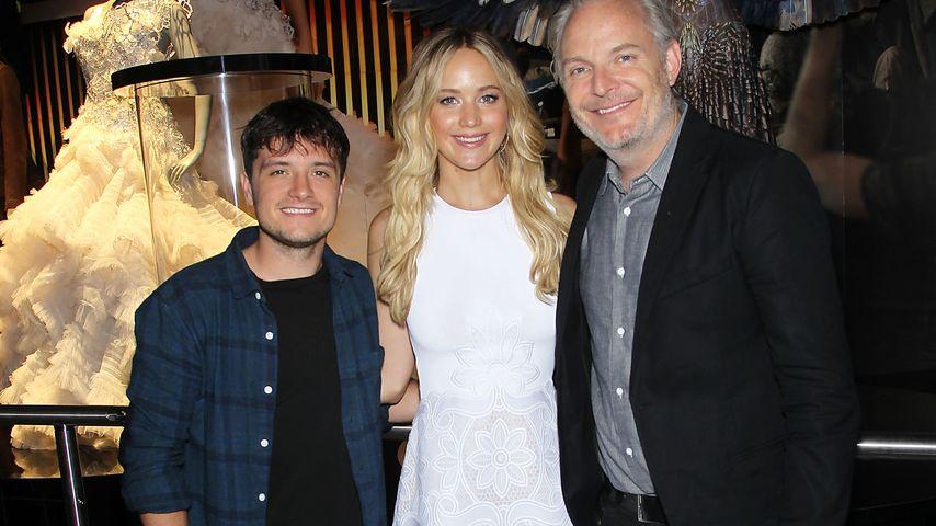 Jennifer Lawrence, Josh Hutcherson und Francis Lawrence