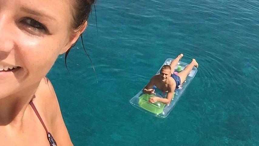 Verliebt! Joshua Kimmich im Urlaub mit Bikini-Beauty Lina
