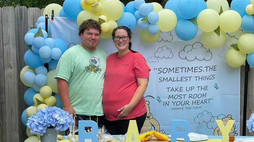Joshua und Lauryn Efird bei ihrer Baby-Shower im Juni 2021