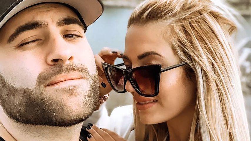 Juan Daniél mit seiner Freundin im April 2019