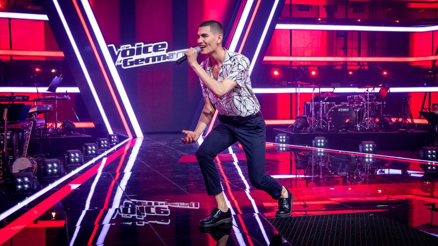 "Juan Geck bei ""The Voice of Germany"" 2020"