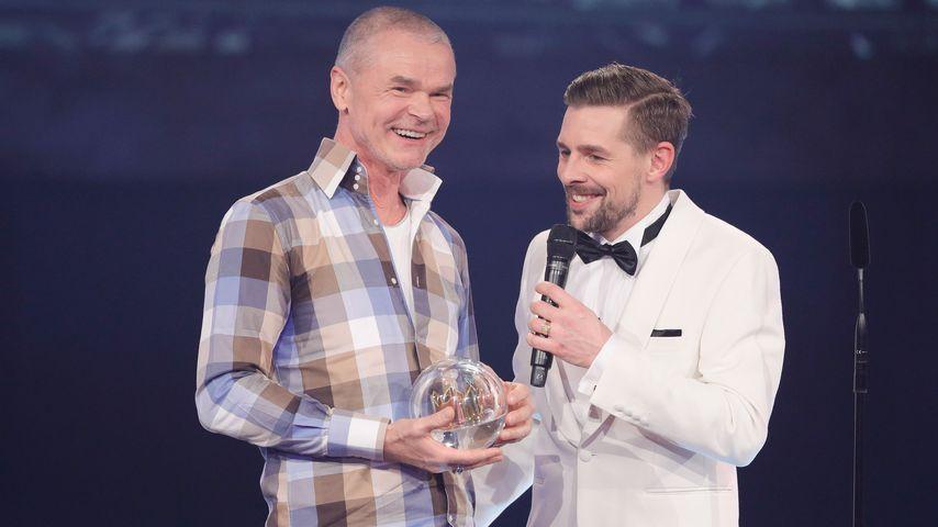 Jürgen Domian und Klaas Heufer-Umlauf bei der 1Live Krone