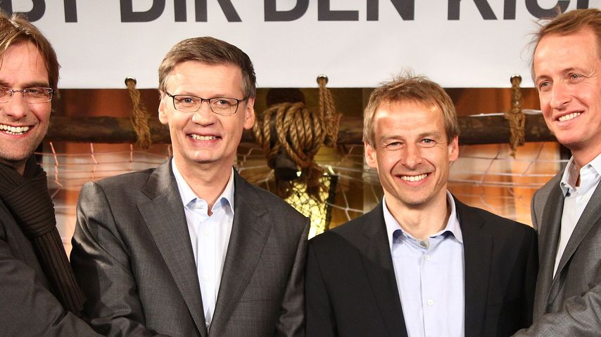 Günther Jauch, Jürgen Klopp und jürgen klinsmann