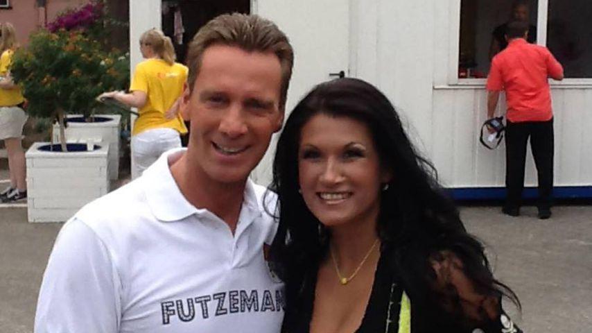 Jürgen Milski und Sandra Stumptner, 2018