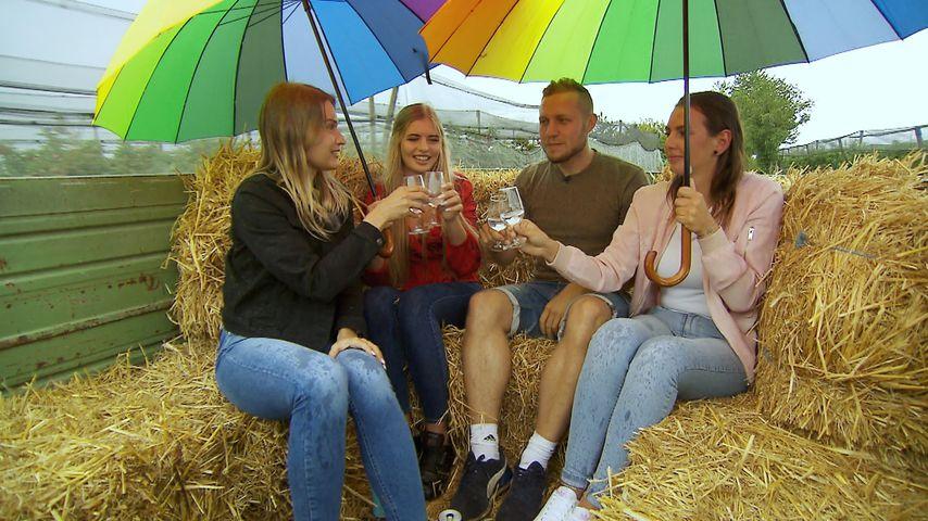 """Julia, Antonia, Patrick und Sofia bei """"Bauer sucht Frau"""" 2020"""