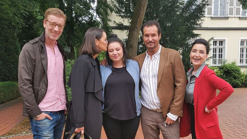 Lars Korten, Kaja Schmidt-Tychsen, Julia Augustin, Silvan-Pierre Leirich und Tatjana Clasing
