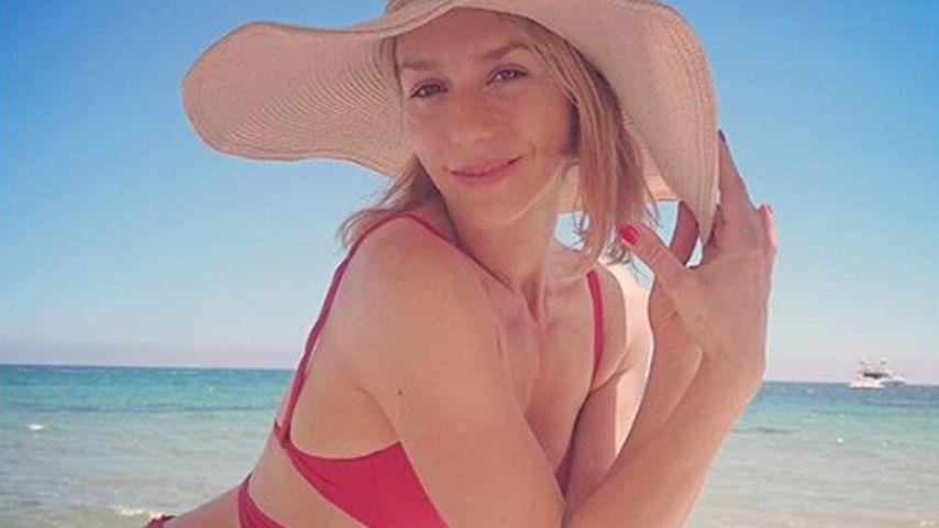 Julia Dietze im Sardinien-Urlaub, Juni 2019