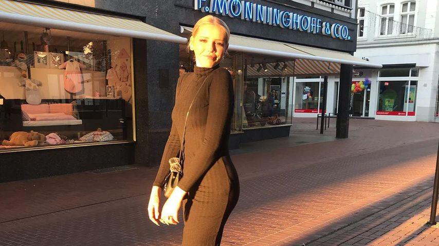 "Julia P., bekannt aus ""Germany's next Topmodel"""