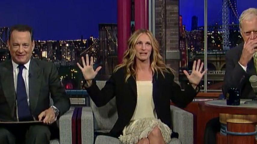 """Julia Roberts & Tom Hanks sind """"frischverheiratet"""""""