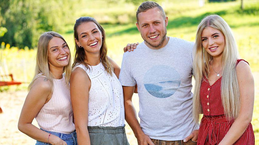 "Julia, Sofia, Patrick und Antonia, ""Bauer sucht Frau""-Teilnehmer 2020"