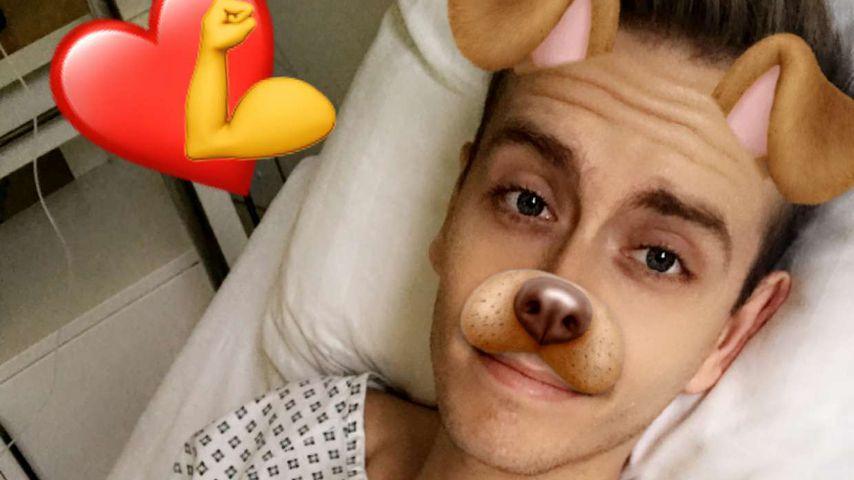 Am Tropf & im Kittel: Bibis Boyfriend Julian im Krankenhaus!