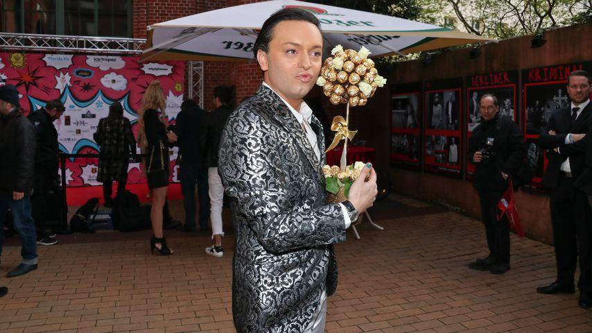 Julian F.M. Stoeckel bei der Gala zu seinem 30. Geburtstag