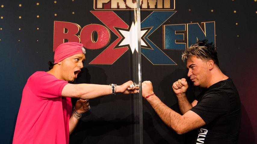 Julian F.M Stoeckel und Matthias Mangiapane, Kandidaten beim Promiboxen 2020