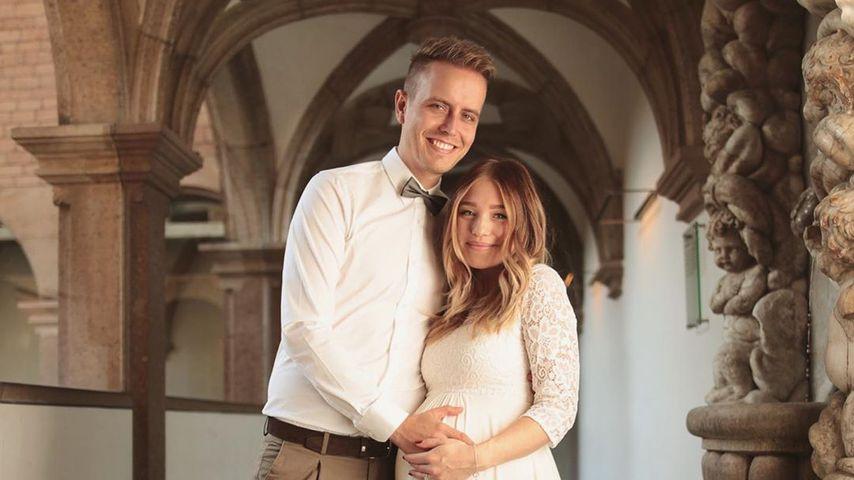 Ein Jahr Mann und Frau: Bibi und Julian feiern Hochzeitstag