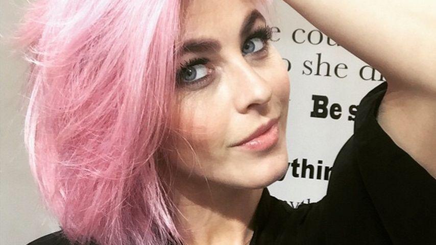 Sie will ein Einhorn sein: Julianne Hough ist jetzt pink!