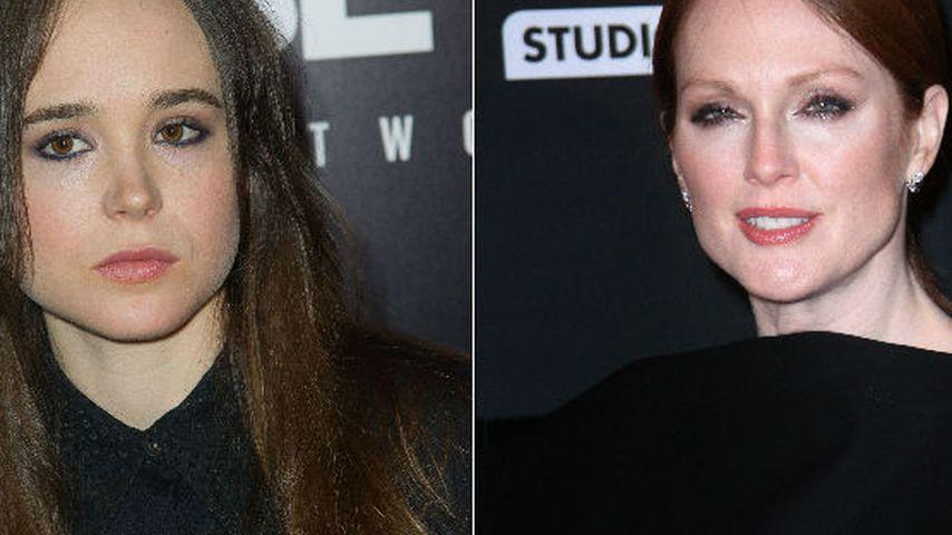 Ellen Page & Julianne Moore spielen Lesben-Paar