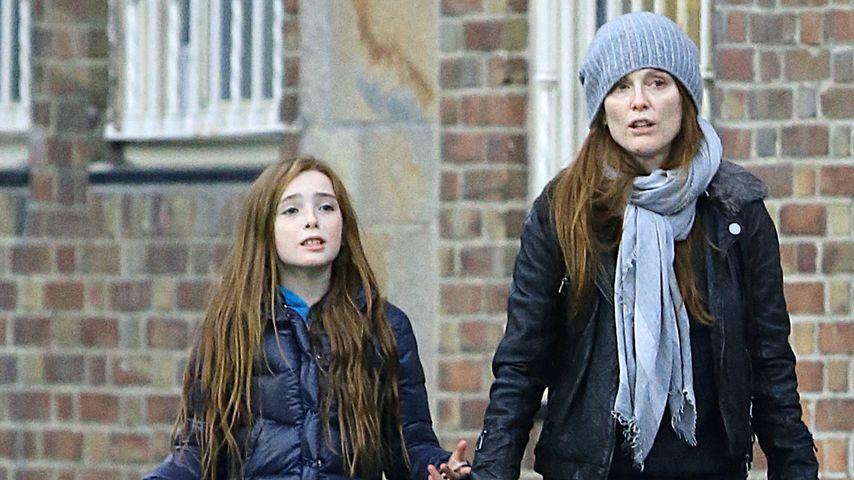 Julianne Moore: Süßes Doppelpack mit ihrer Tochter