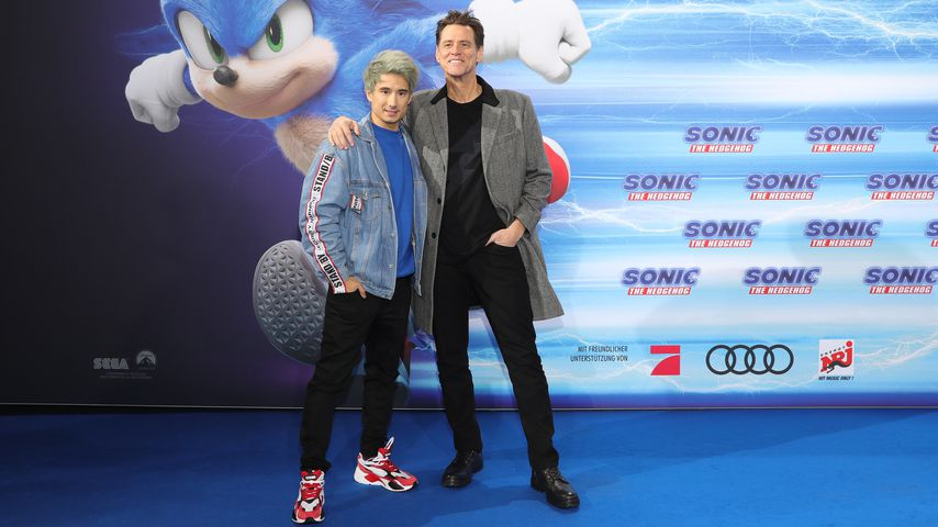 Julien Bam und Jim Carrey