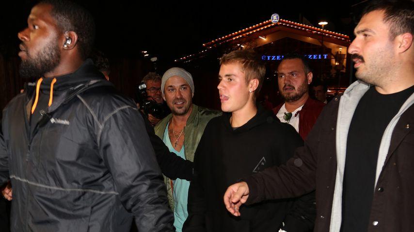 Justin Bieber auf dem Oktoberfest in München