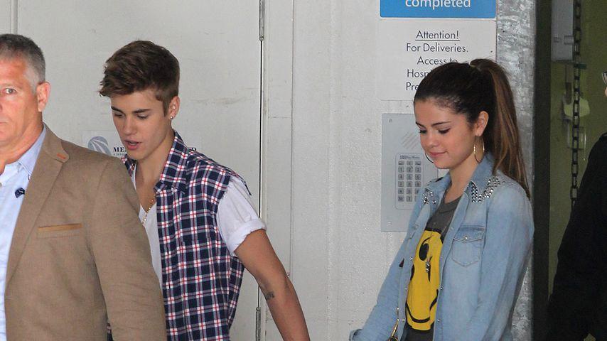 Zurück aus Therapie: Justin Bieber unterstützt seine Selena!