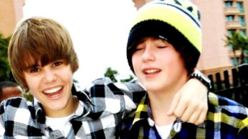 Justin Bieber mit seinem Kumpel Chaz