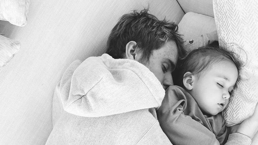 Süß! Justin Bieber kuschelt mit seiner kleinen Schwester