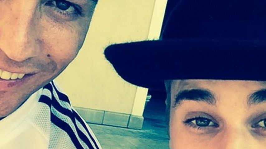 Justin Bieber: Fan-Selfie mit Cristiano Ronaldo