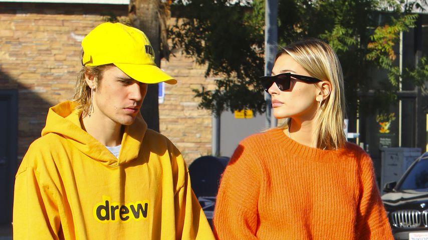 Justin Bieber und Hailey Baldwin im Oktober 2018