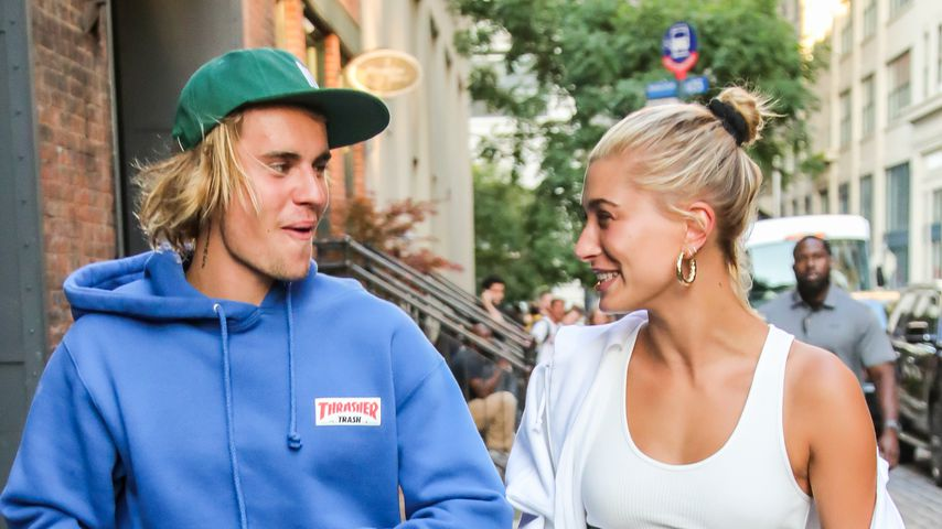 Nach Heulkrampf am Handy: Justin & Hailey happy in New York