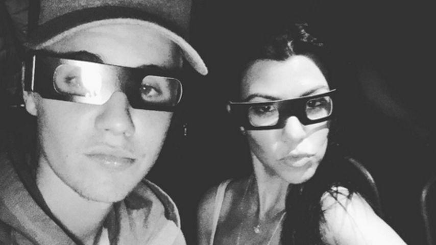 Justin Bieber: Abend mit Kourtney Kardashian endete schaurig