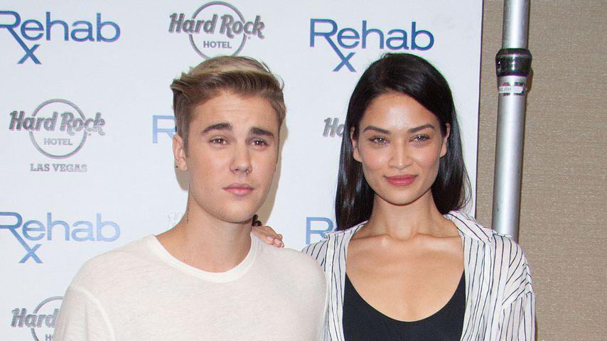 Justin Bieber und Shanina Shaik bei einer Party in Las Vegas im Jahr 2015