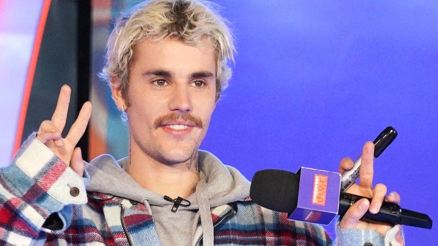 Justin Bieber in New York im Februar 2020