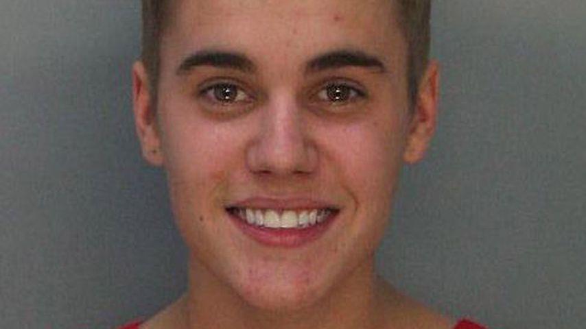 Justin Biebers Mugshot aus dem Jahr 2014