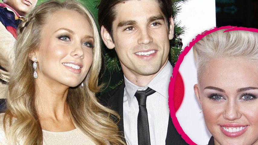 Miley Cyrus' Ex Justin Gaston hat geheiratet