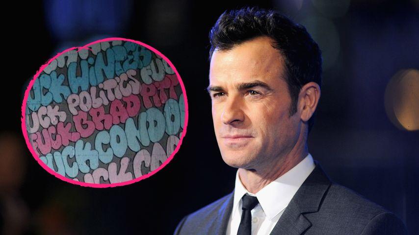 """""""F**k Brad Pitt"""": Disst Justin Theroux Jennifer Anistons Ex?"""