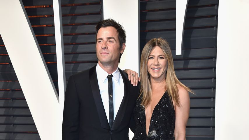 Justin Theroux und Jennifer Aniston bei den Oscars 2017