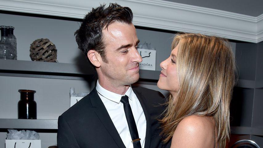 Justin Theroux und Jennifer Aniston, September 2014