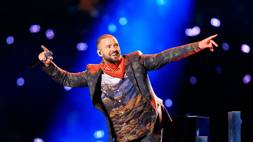 Justin Timberlake 2018 bei seinem Super-Bowl-Auftritt in Minneapolis