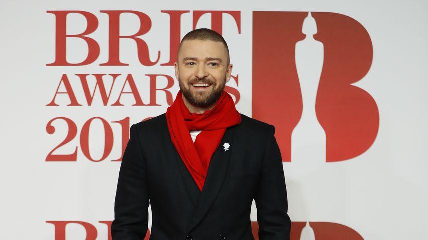 Justin Timberlake bei den BRIT Awards 2018