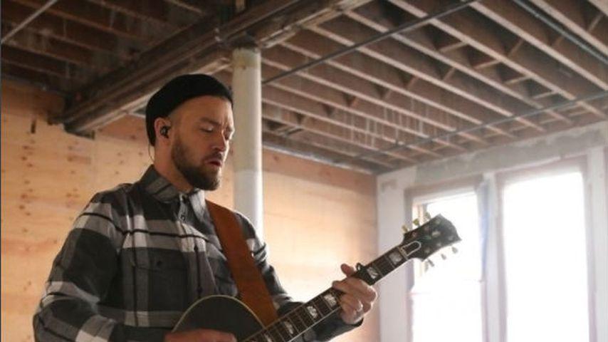 Gänsehaut! Justin Timberlake begeistert mit Akustik-Song