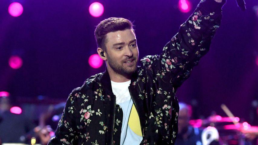 Wie süß! Justin Timberlakes Sohn erkennt Papas Stimme im TV