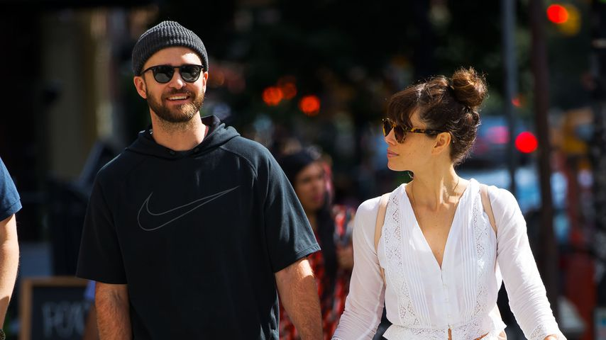 Hollywoods Traumpaar Nr. 1? Justin & Jessica auf Turtel-Kurs