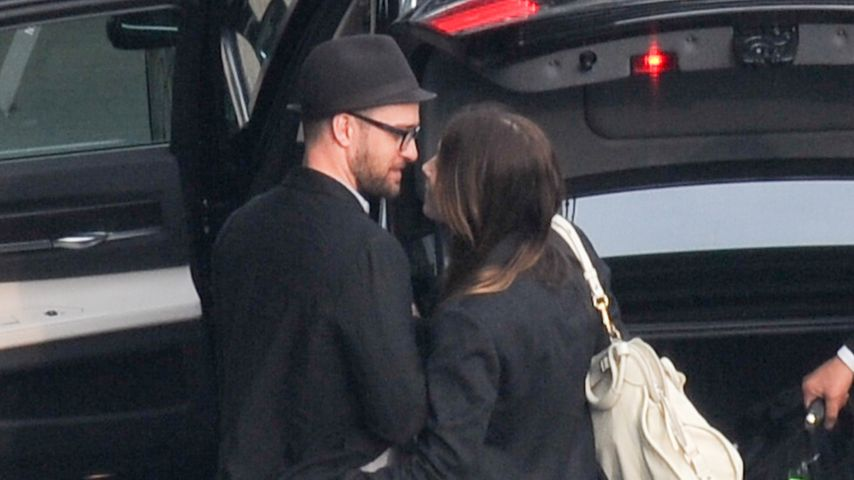 Jessica Biel & Justin Timberlake: Happy in love!