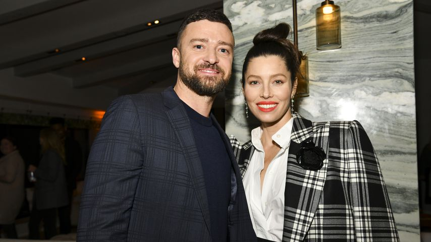 "Justin Timberlake und Jessica Biel bei der 3. Staffel-Premiere von ""The Sinner"" in Hollywood, 2020"