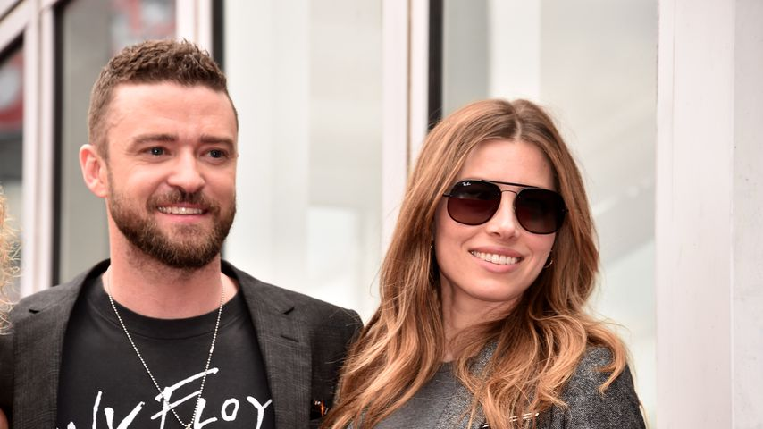 Justin Timberlake und Jessica Biel in Hollywood, 2018
