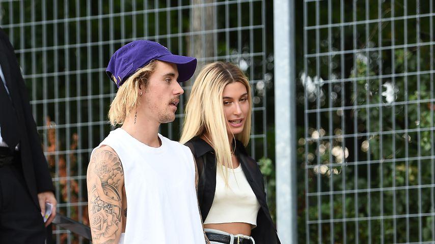 Justin und Hailey Bieber im September 2018